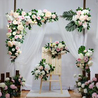 flower wall wedding backdrop rose decorations