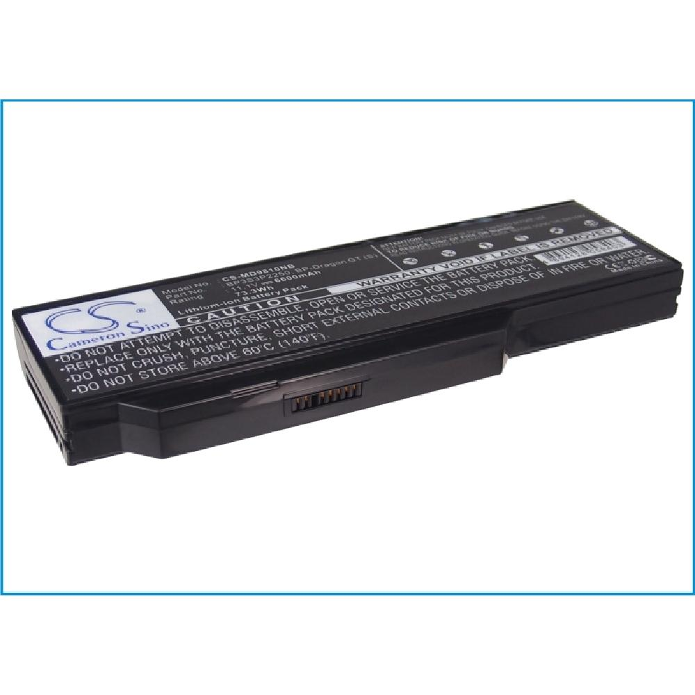 Battery Replacement for packard bell EasyNote <strong>W1000</strong> W1950 W1930 W1801 W1800 40016133