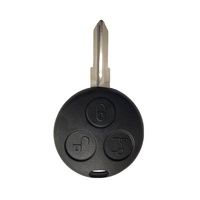 3 Buttons Car Remote Smart Key Shell Fob Cover For Mercedes Benz SMART Fortwo Cas