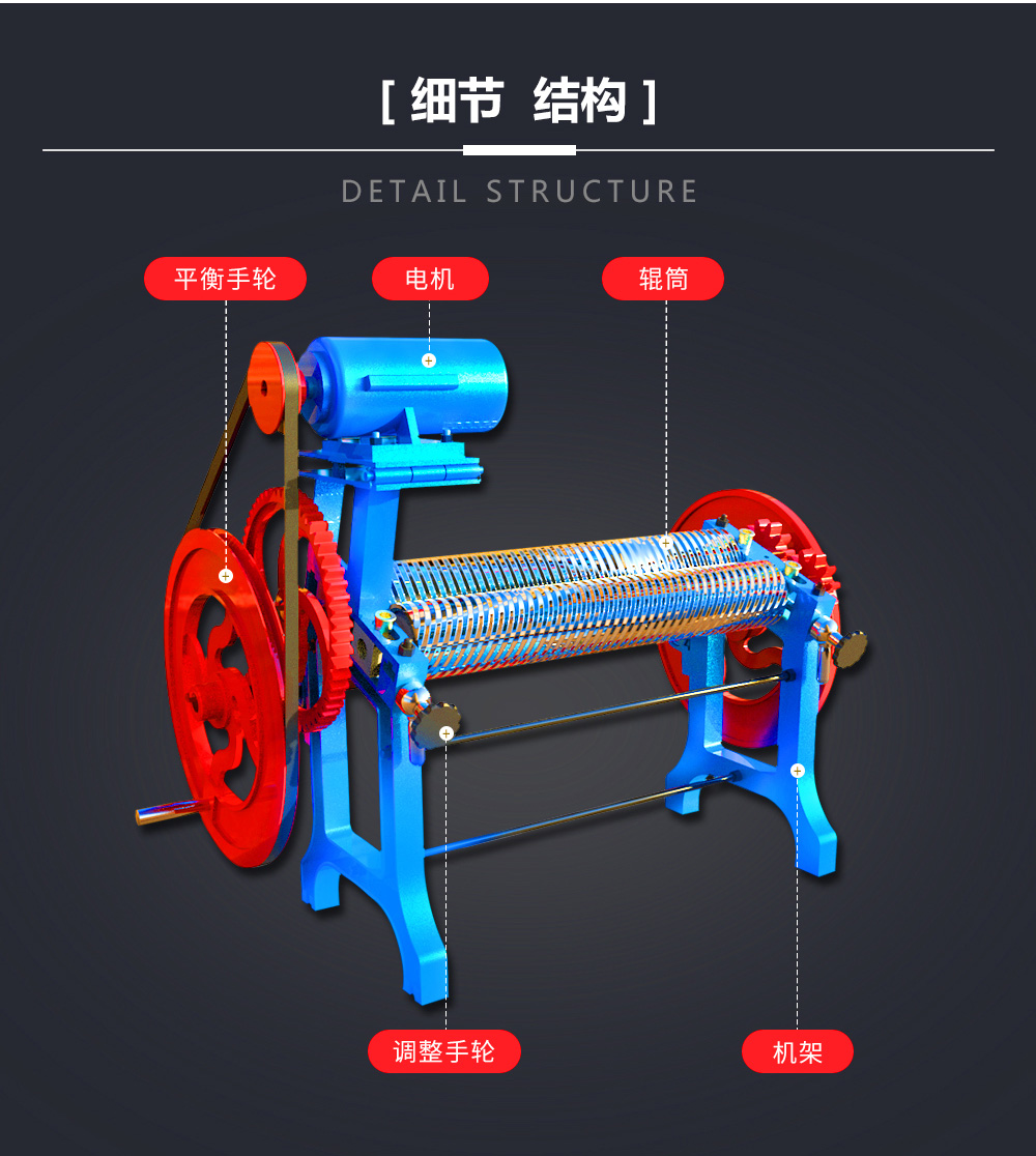High Efficency Hand-operated/Manual Roll Mill Sheeting Machine