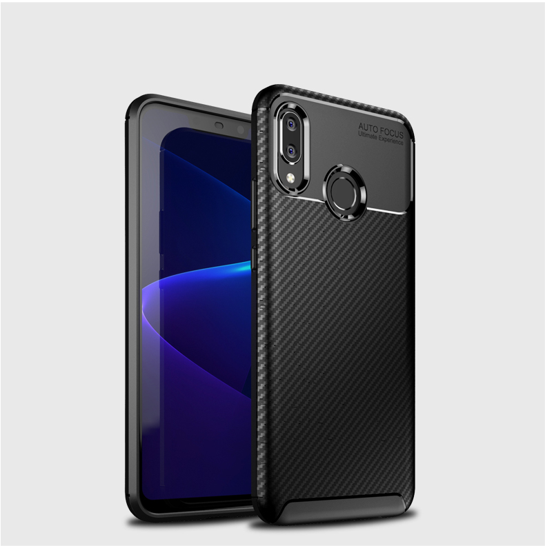 Free Shipping Laudtec Soft TPU Silicone Cover Case for huawei nova 3 nova3i <strong>p</strong> smart plus Carbon Fiber Phone Cases