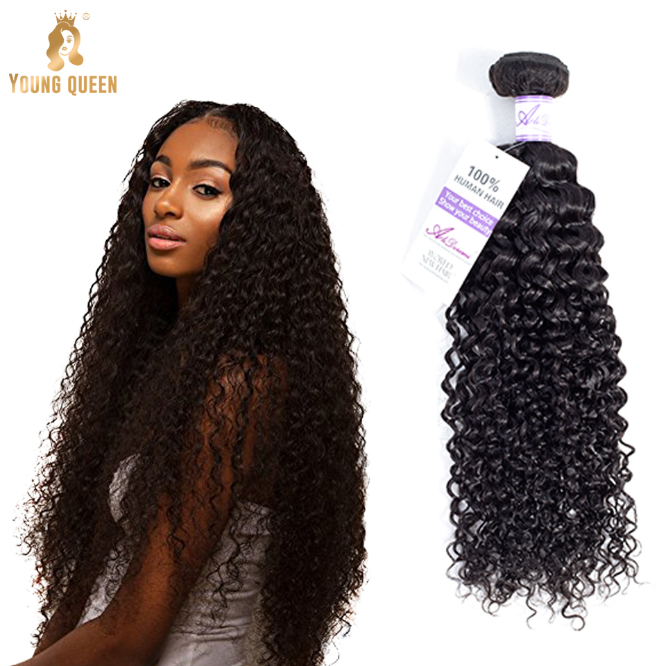 Young Queen wholesale hair extension vendors human mongolian kinky curly hair bulk indian hair raw unprocessed virgin bundle