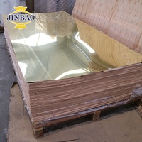 JINBAO 2mm 4*8ft 4*6ft Acrylic one way Mirror Sheets for decoration perspex mirrors 3mm gold mirror sheet