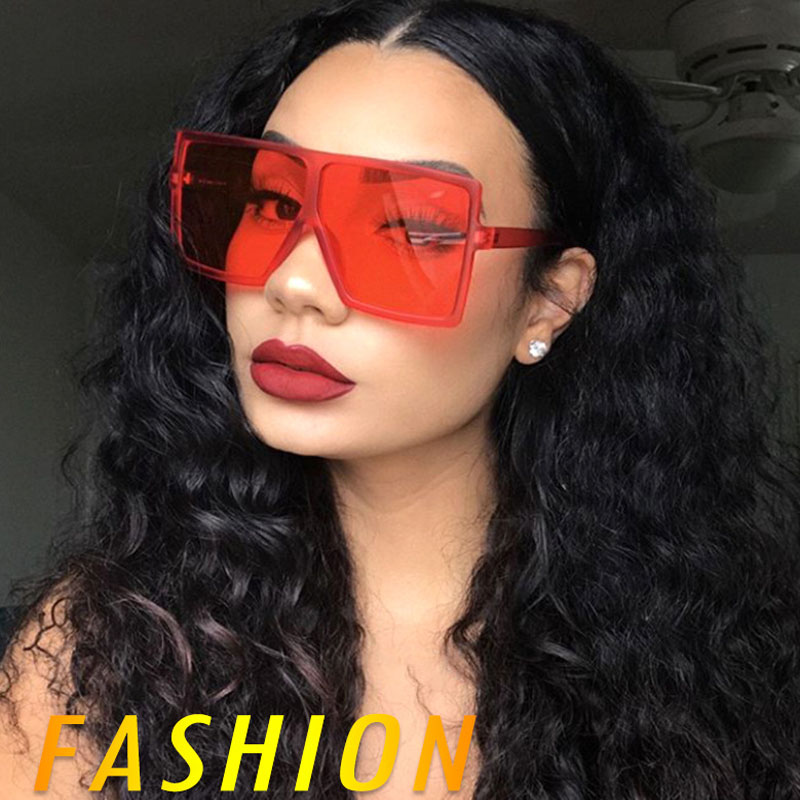 17059 Hot <strong>Sales</strong> Square Large Frame Sun glasses Unisex Fashion Versatile Sunglasses ce polarized sunglasses