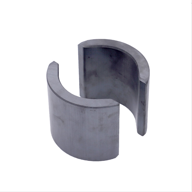 Tiles / arc shape ferrite <strong>magnet</strong> for generator or motor