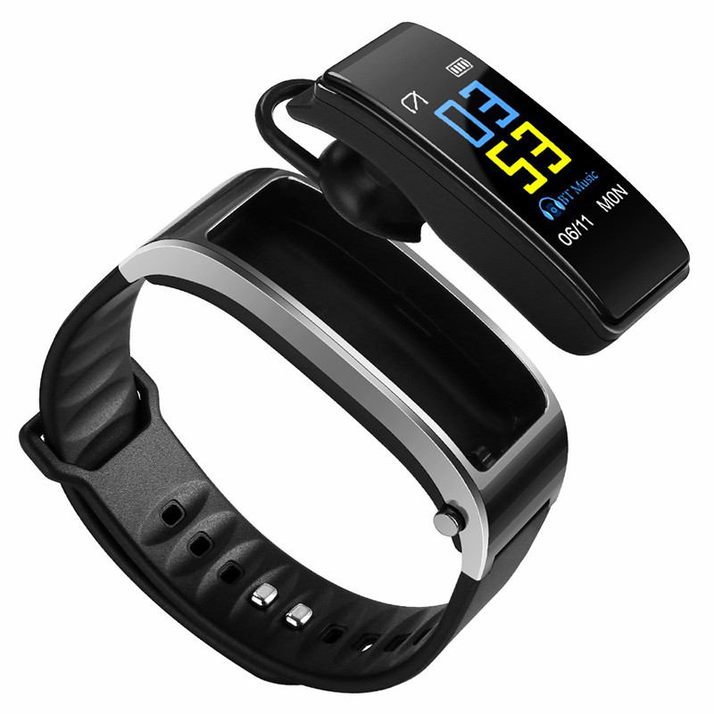 <strong>Y3</strong> plus Smart Band Wristband Talk Bracelet Fitness Tracker Heart Rate Monitor Bluetooth Earphone