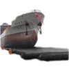 Rolling Airbag Rubber Balloon Landing Boat Salvage Pontoon