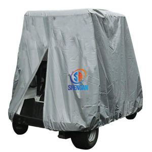 4 Passenger Golf Cart Cover, Waterproof Golf Cart Cover for EZ GO Club Car Yamaha Golf Carts, Sunproof Dustproof
