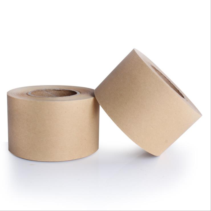 excellent brown wet water activated kraft paper tape