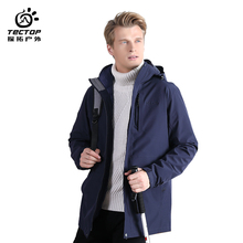 TECTOP New Keep Warmth Three in One Outdoor Jacket with Detachable Liner for Lovers Windproof Snow Winter Jackets <strong>Sports</strong> <strong>Wear</strong>