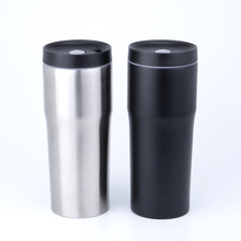 Best Selling 16 Oz Personalized Black Stainless Steel Vacuum Insulated Drinking Skinny Tumbler <strong>Cups</strong>