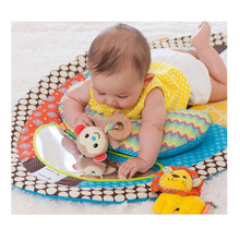 2019 Multifunctional baby play mat safty playmat educational Learning Toy baby cushion growth chart