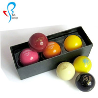 egg shape lip balm gift box set with shea butter