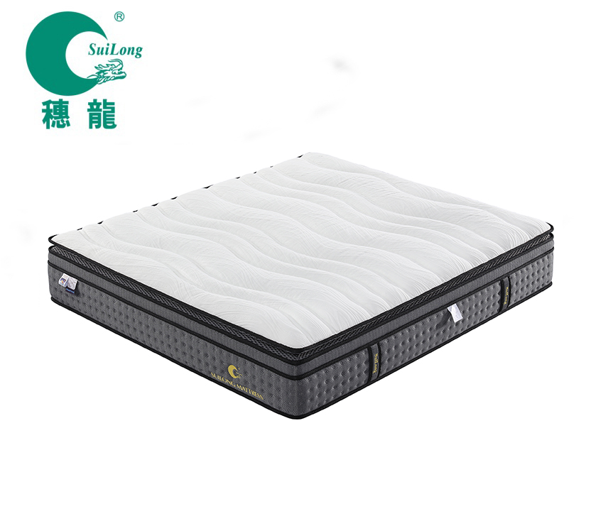 Hot Sell Bread Pocket Spring & Pocket Spring Euro Pillow Top Mattress - Jozy Mattress | Jozy.net