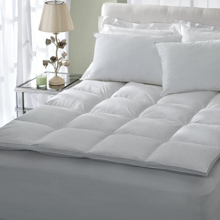 Hotel collection luxury 233T 100% cotton mattress topper - Jozy Mattress   Jozy.net