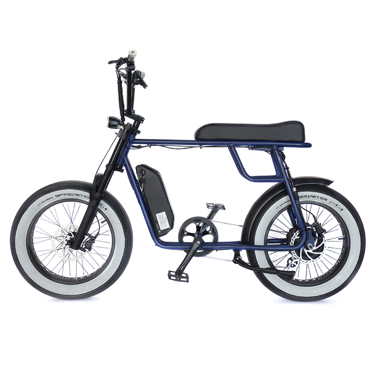 Super Chopper 73 electric bicycle fat tire <strong>1000</strong> <strong>w</strong> mac hub motor e bike 52v 17.5ah Polly Battery