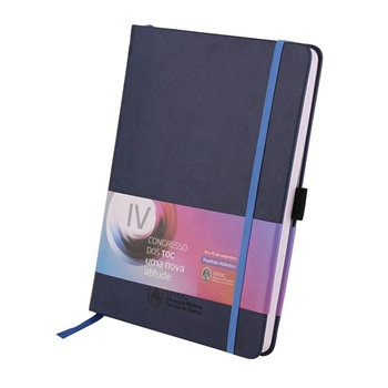 Hot Sale A5 Size PU Cover Custom Pocket Notebook With Pen Holder