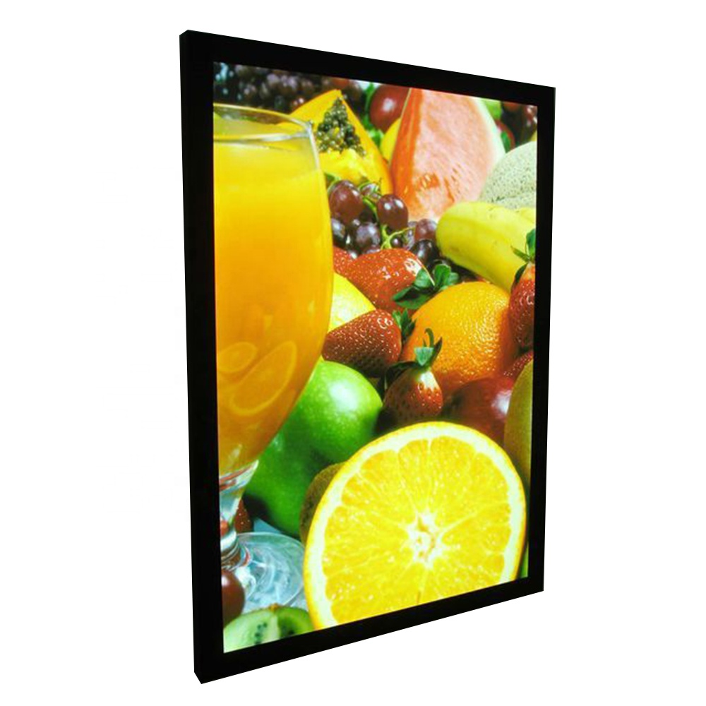 Restaurant Wall Mounted Acrylic Led Slim Menu Light Box A3 A2 A1 <strong>A0</strong> With Magnetic Panel