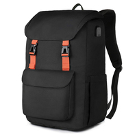 Waterproof Explorer Backpack Travel Mochila Fits Laptop for Men and Women with USB Charging Port