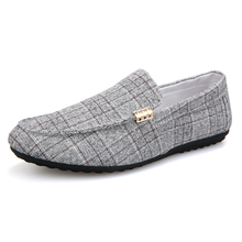 Fashion Casual Shoes Male Four Seasons Pure Color Lazy Shoes
