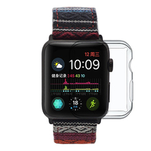 Transparent Soft Bumper For Iwatch Screen Protector Compatible with All Series 5/4/3/2/1 Apple Watch <strong>Case</strong> Tpu