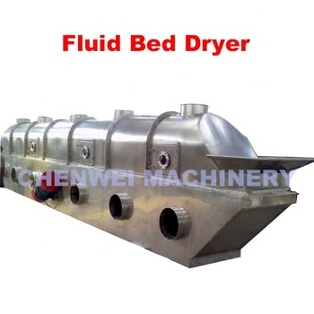 Industrial Fluid Bed Dryer for horizontal vacuum rotary dryer