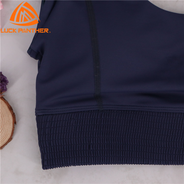 Factory custom Women Sport Bras Yoga Shirt Fitness Running Vest Underwear Padded Bra Crop Sport Top