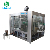 Full automatic glass bottle soda water making equipment / carbonated drink filling capping processing machine