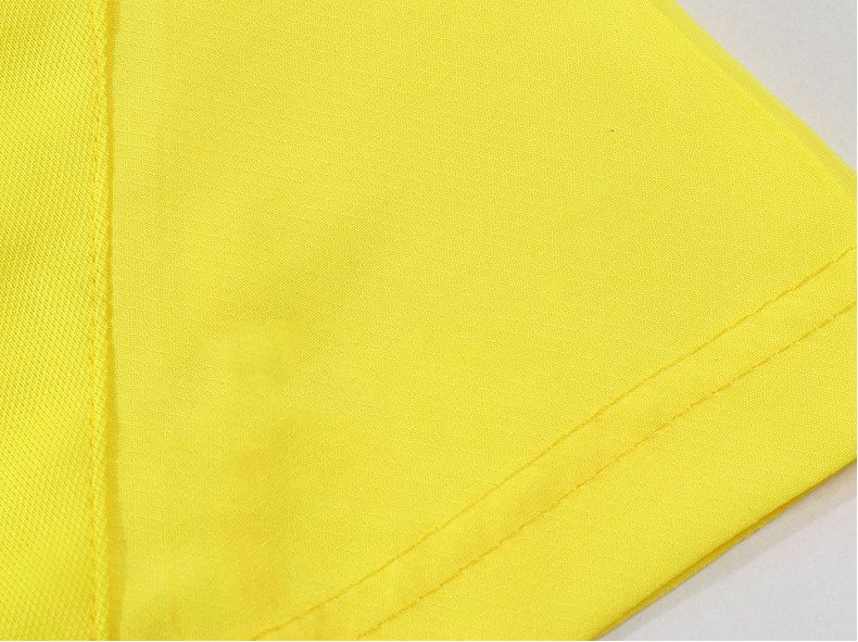 Byval Wholesale sports short yellow polyester short mesh short