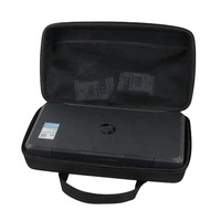 Portable carrying printer case for HP wireless printer