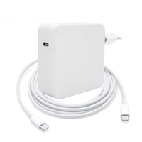 87w usb type c power adapter charger chargeur for macbook pro type c