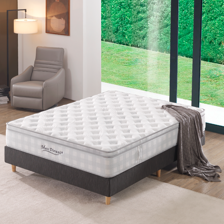Eurotop Mattress Style And Home Furniture General Use Spring Fit Mattress - Jozy Mattress | Jozy.net