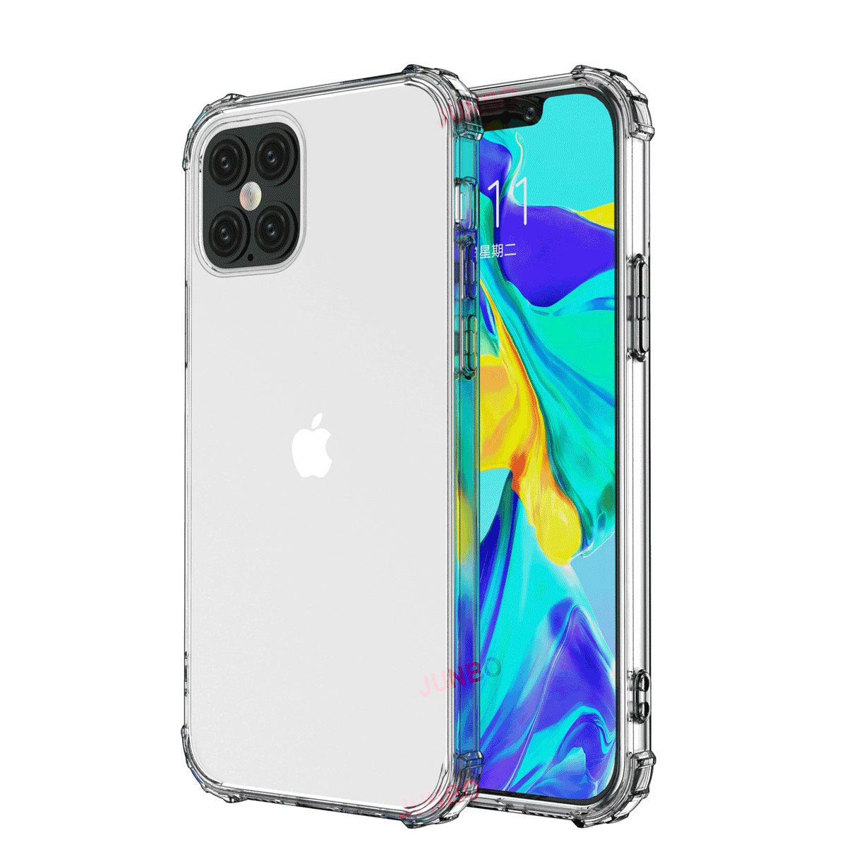 For iPhone SE 2020 TPU Case Crystal Clear Transparent Droproof Soft Case for Apple iPhone 11 12 pro <strong>max</strong> 2019