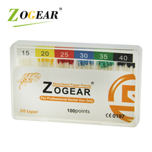 ZOGEAR ED006 dental Absorbent cleaning paper <strong>points</strong>