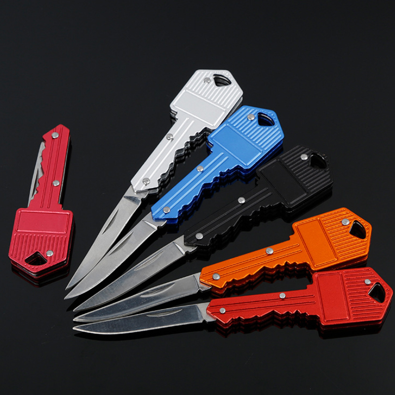 High Quality Stainless Steel Hiking Survival Self Defense Tool Utility Mini Pocket Key Folding <strong>Knife</strong>