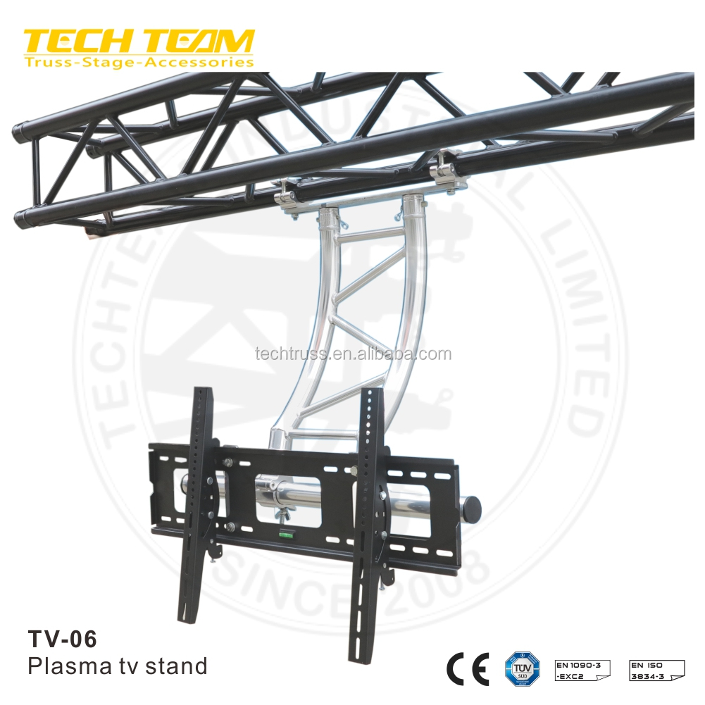 Modern Outdoor Tv06 Aluminum Truss Movable Cheap Tv Stand