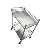 Hospital Medical Equipment Stainless Steel Trolley