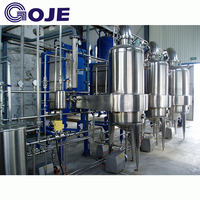 Concentrate Multi-effect forced circulation evaporator system