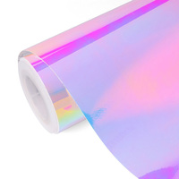 SINOVINYL Car Wrap Sticker Film Mysterious Chrome Rainbow Auto Vinyl