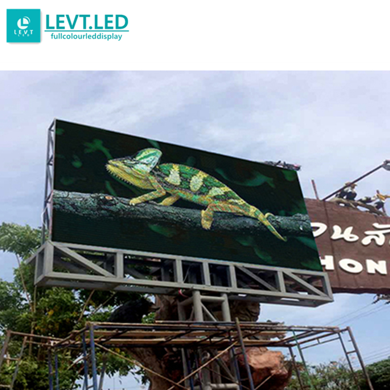 Levt p8 <strong>p10</strong> waterproof outdoor led billboard <strong>advertising</strong> <strong>screen</strong> 24v panel sign for hot sale