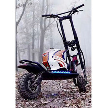 60v 11inch fat tires original kaabo wolf warrior 11 mini motors electric scooter 2400w 90km/hour