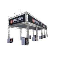 3D exhibition booth design trade show exhibit truss booth display