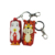 FAMA social audit factory custom animal cartoon shape mini travel hand sanitizer bottle holder