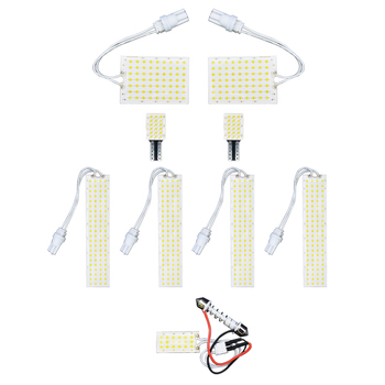 Milky Way 12V Led Automobiles Accessories Interior Reading Light Dome Lamp Kit for TOYOTA ESTIMA