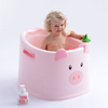 Lovely baby plastic bath tub, baby animal bath bucket