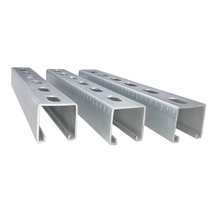 Top quality customized HDG outdoor slot unistrut channel