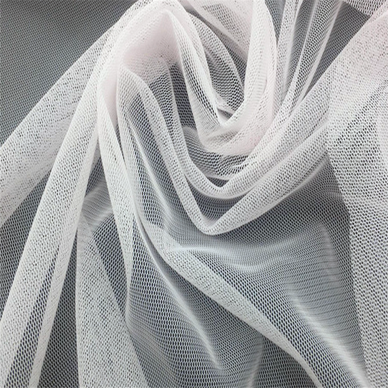 Color Polyester Knitted Fabric Mesh Cloth For Wedding Dress Mosquito Net Laundry Bag Underwear Production <strong>Material</strong>