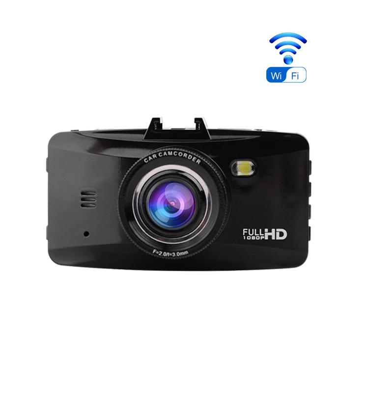 Full HD 1080P Super Night Vision Dual Lens Car Dash Camera With Wifi 2.7 Inch Car Camera Recorder