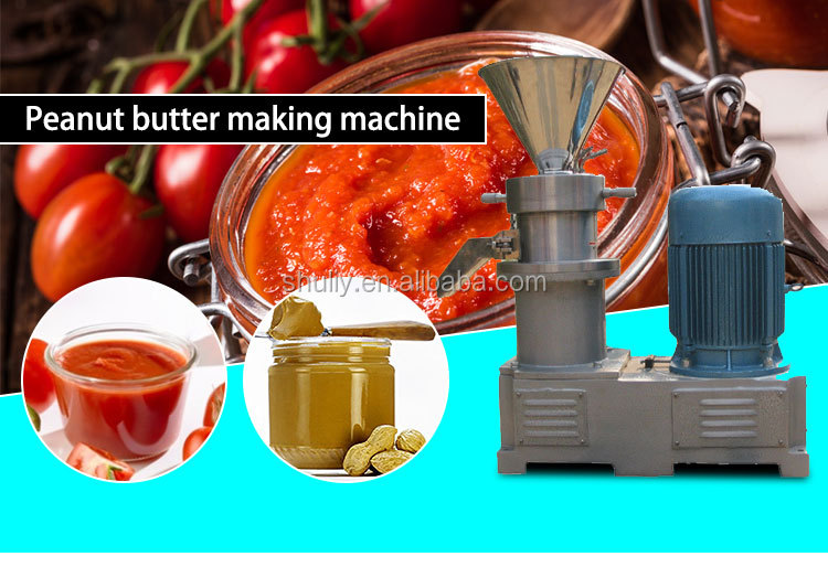 hot selling small colloid mill commercial peanut butter machine peanut butter making machine