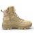 Cheap custom usa italian tan leather desert lace up military bulletproof army boots for men